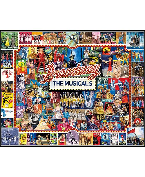White Mountain Puzzles Broadway 1000 Piece Jigsaw Puzzle