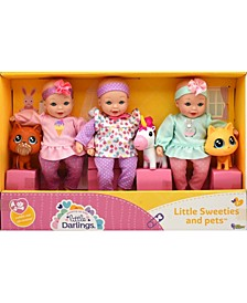 Little Sweeties Pets Toy Baby Doll Play Set