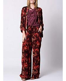Mini Length Cannes Mixed Kimono