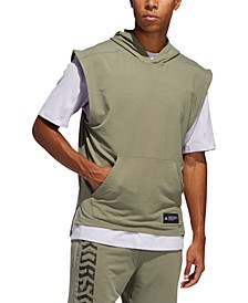 Men's Sleeveless Hoodie T-Shirt