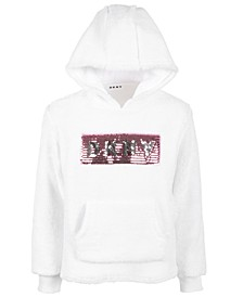 Big Girls Sequined Logo Hoodie