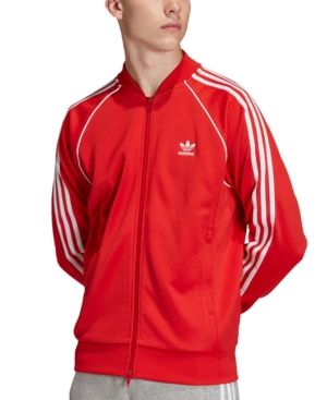 70s Workout Clothes | 80s Tracksuits, Running Shorts, Leotards adidas Mens Originals Superstar Track Jacket $75.00 AT vintagedancer.com
