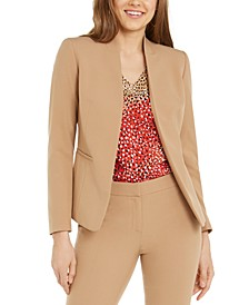 Seamed Open-Front Blazer, Created For Macy's