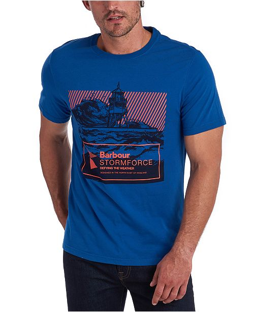 Barbour Men's Break Stormforce Logo Graphic T-Shirt