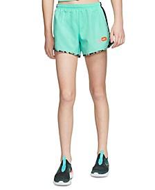 Big Girls Colorblocked Dri-FIT Tempo Running Shorts