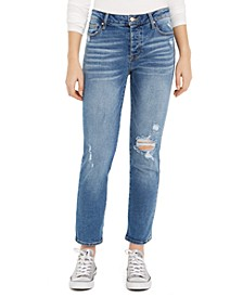 Juniors' Straight-Leg Ankle Jeans
