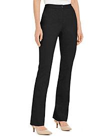 Alfani Petite Hardware-Waist Trouser Pants, Created for Macy's