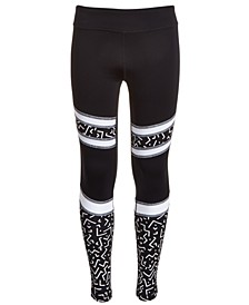 Big Girls Pieced Leggings, Created For Macy's