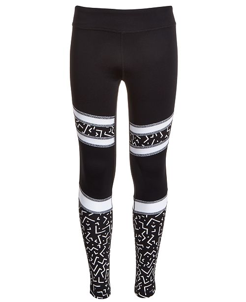 Ideology Big Girls Pieced Leggings, Created For Macy's