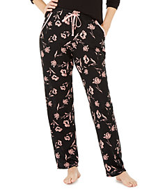 Charter Club Super Cozy Printed Pajama Pants, Created for Macy's