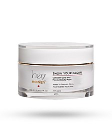 Show Your Glow Colloidal Gold-Tone Honey Beauty Mask, 50 ml