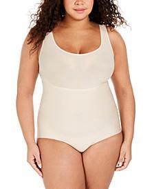 Women's Plus Size Thinstincts® Bodysuit 10224R