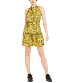 Lily Floral-Print Tiered-Skirt Dress, Regular & Petite