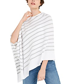 Organic Cotton Oversized Poncho