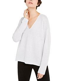 Eileen Fisher Organic V-Neck Sweater