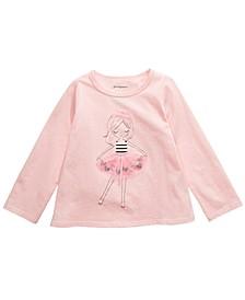 Baby Girls Tutu Girl T-Shirt, Created For Macy's