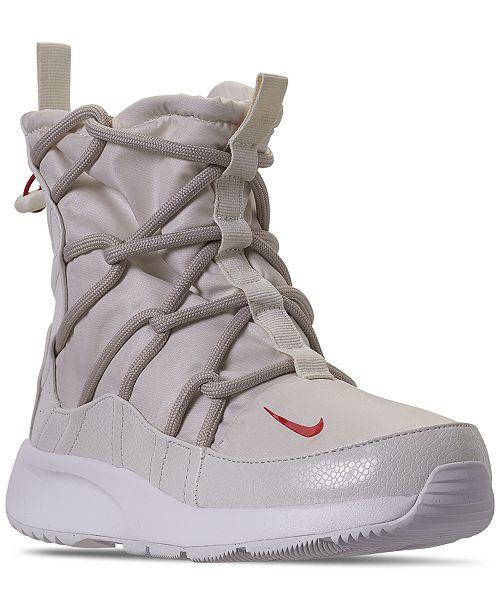 Nike Women's Tanjun High Rise High Top Sneaker Boots