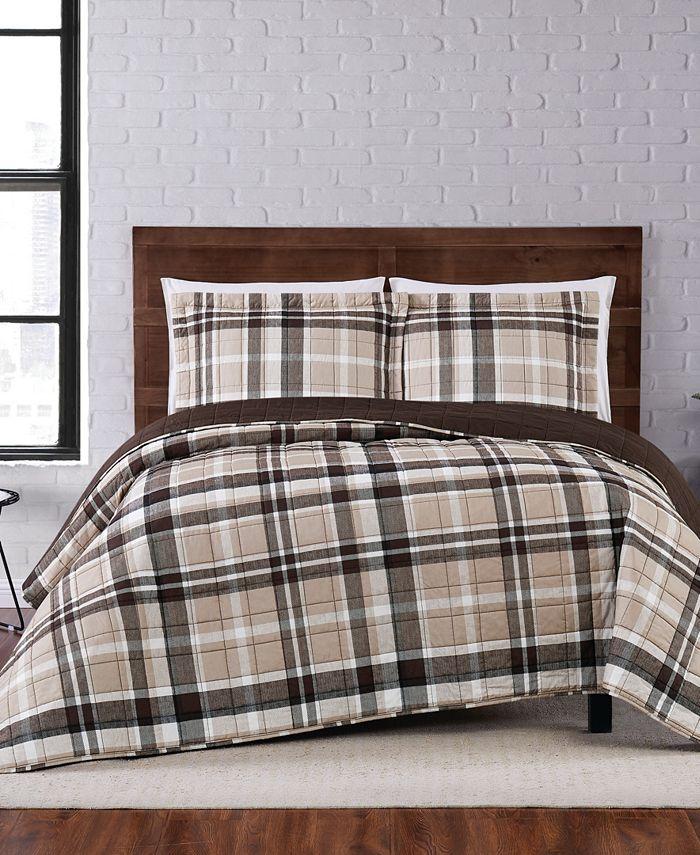 Truly Soft - Paulette Plaid Quilt Set