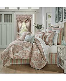 J Queen Estonia California King 4 Piece Comforter Set