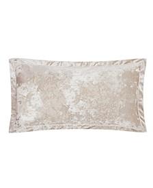 """Velvet Melange Decorative Pillow, 32"""" x 16"""""""