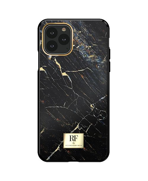 Richmond&Finch Black Marble Case for iPhone 11