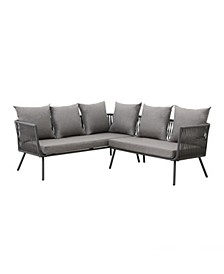 Zion Outdoor 2-Piece Sectional Sofa