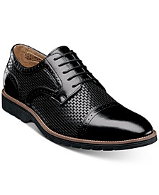 Men's Ellery Textural Brogue Oxfords