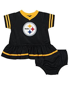Baby Pittsburgh Steelers Dazzle Dress