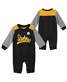 Baby Pittsburgh Steelers Scrimmage Coverall