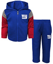 Baby New York Giants Blocker Fleece Set