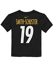 Toddlers Juju Smith-Schuster Pittsburgh Steelers Mainliner Player T-Shirt