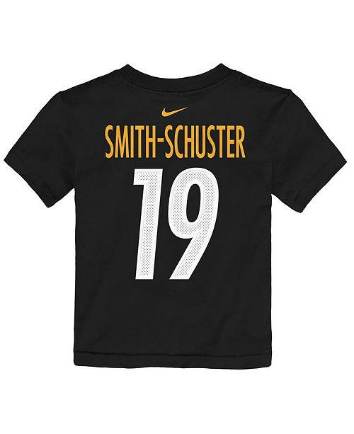 Outerstuff Toddlers Juju Smith-Schuster Pittsburgh Steelers Mainliner Player T-Shirt