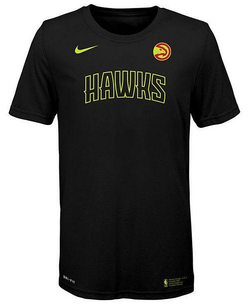 Nike Big Boys Atlanta Hawks Facility T-Shirt
