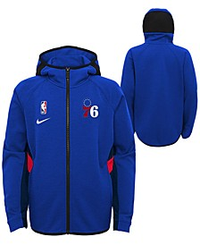 Big Boys Philadelphia 76ers Showtime Hooded Jacket