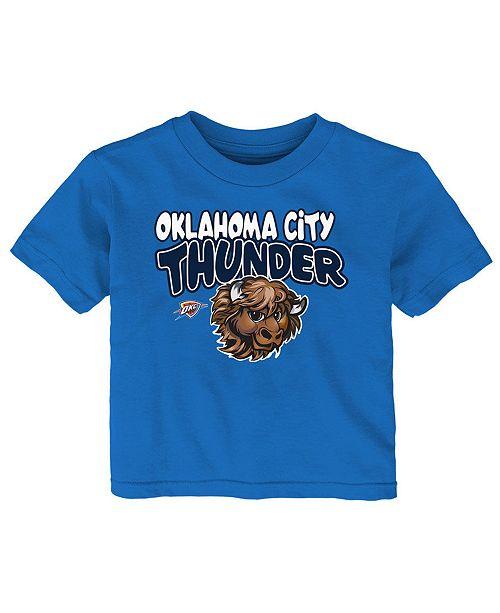 Outerstuff Baby Oklahoma City Thunder Basic Logo T-Shirt