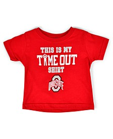 Baby Ohio State Buckeyes On Time Out T-Shirt
