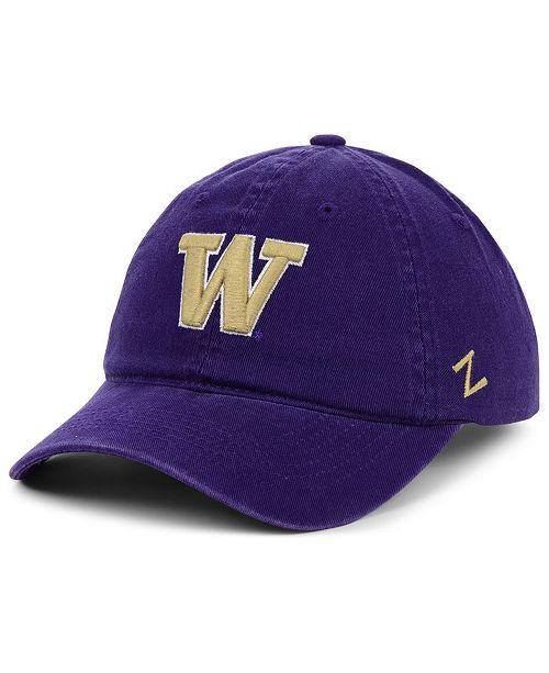 Zephyr Washington Huskies Scholarship Strapback Cap