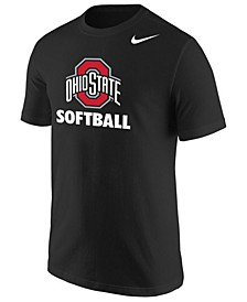 Men's Ohio State Buckeyes Core Softball Logo T-Shirt