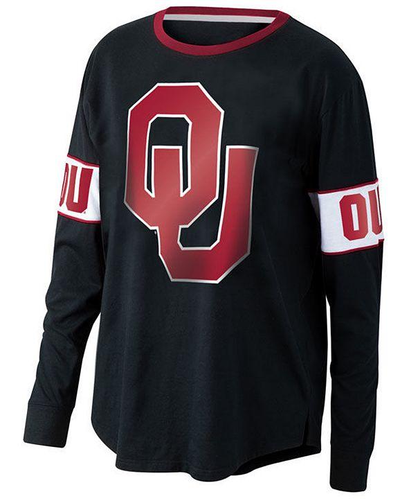 Top of the World Women's Oklahoma Sooners Backfield Long Sleeve T-Shirt