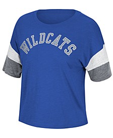 Women's Kentucky Wildcats Sleeve Stripe T-Shirt