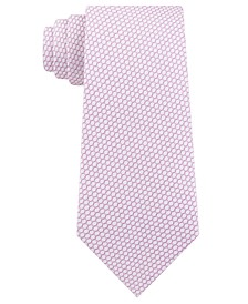 Men's Micro Hexagons Slim Tie