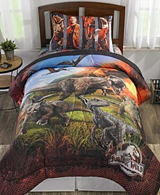 Jurassic World Full 5-Piece Bed in a Bag