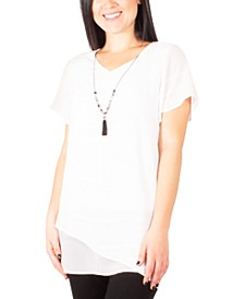 Petite Layered-Look Necklace Top