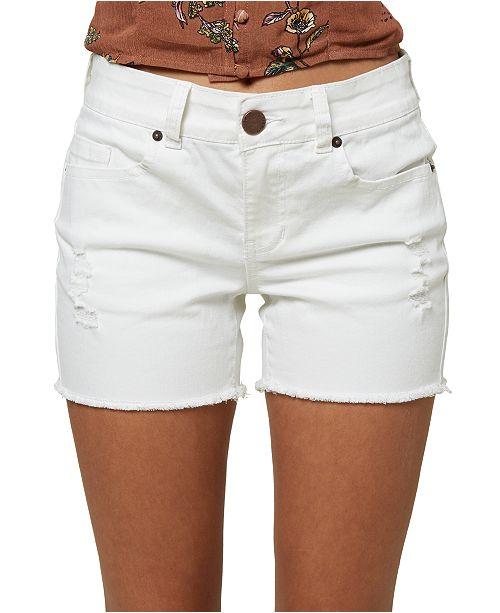 O'Neill Juniors' Cody Ripped Denim Shorts