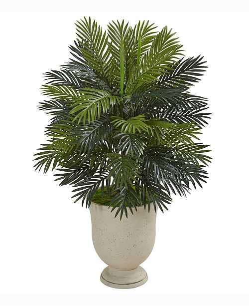 Nearly Natural 40in. Areca Palm Artificial Plant in Decorative Urn