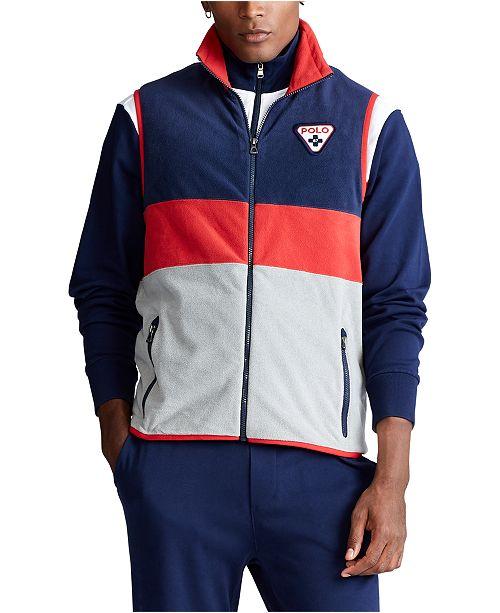 Polo Ralph Lauren Men's Polo Shield Fleece Vest