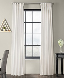 Solid Country Cotton Curtain Panel