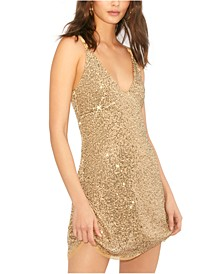 Gold Rush Mini Dress