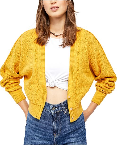 Free People Moon River Cardigan Sweater