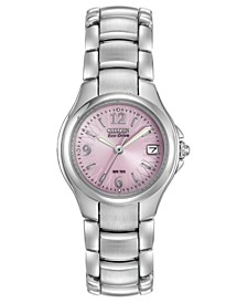 Eco-Drive Women's Chandler Stainless Steel Bracelet Watch 25mm